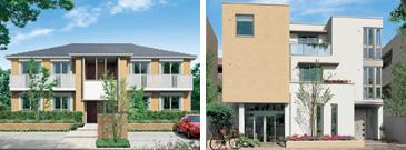 積水ハウスの賃貸住宅シャーメゾン イメージ