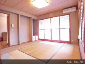 上野原市コモアしおつ4丁目 スムストック(平屋) 和室 約7.7帖