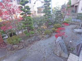 上野原市コモアしおつ4丁目 スムストック(平屋) お庭